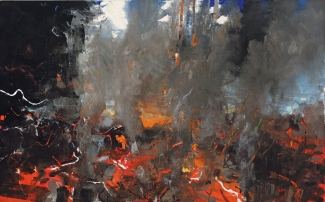Red Winter, 2008 Oil on linen 50 x 80 inches Courtesy of the artist and DC Moore Gallery, New York