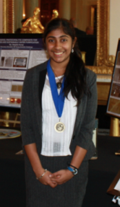 Deepika at the 2013 White House Science Fair